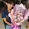 Hand Bouquet Peony