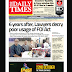 NAIJA NEWSPAPERS: TODAY'S THE DAILY TIMES NEWSPAPER HEADLINES [23 OCTOBER, 2017].