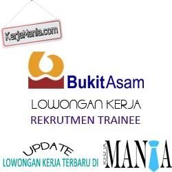 Lowongan Kerja PT Bukit Asam (Persero) Tbk Rekrutmen Trainee