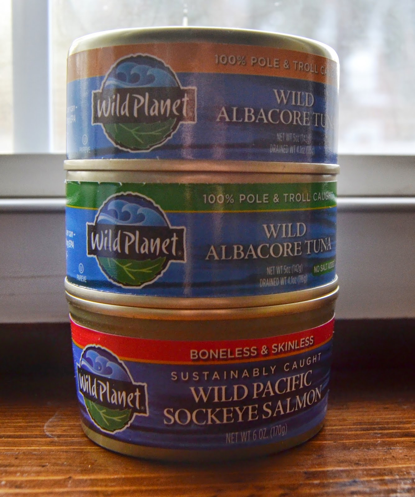 Wild Planet Tuna and Salmon