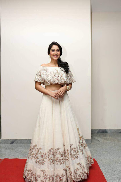 Regina Cassandra At Suruli Raajanum Audio Launch Stills