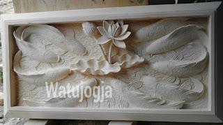 Relief batu alam watujogja