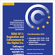 REDA 2015 Regulation and Enforcement in the Digital Era