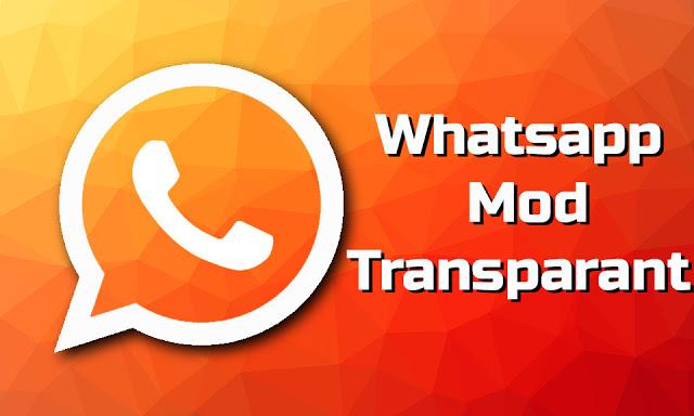 Download Apk Whatsapp Mod Transparan Terbaru 2018