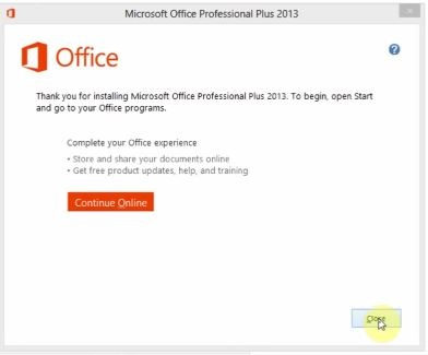 Download và crack Microsoft Office 2013