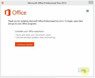 Download và crack Microsoft Office 2013
