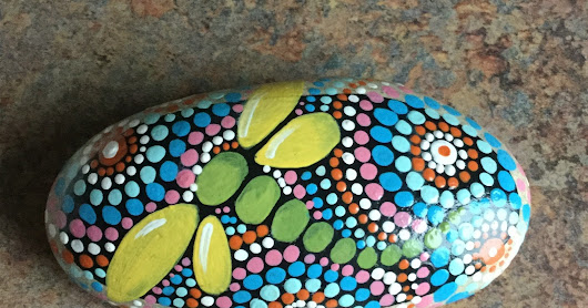 More painted stones