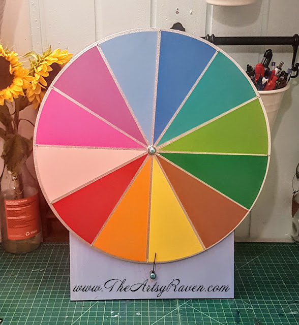 "The ""What to Craft"" Wheel by TheArtsyRaven"
