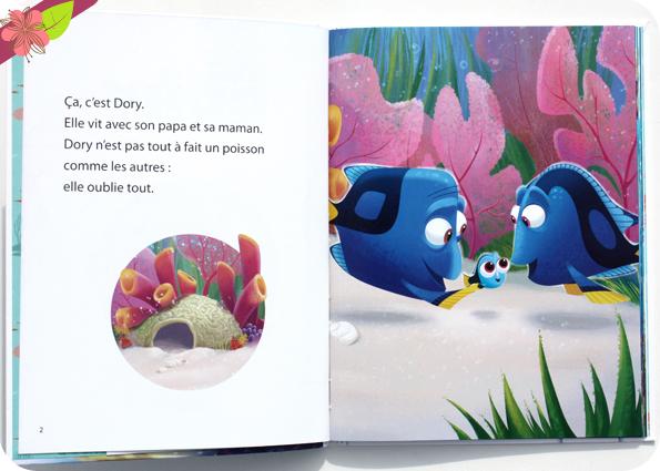 Collection Mes Premières Lectures Hachette : Le Monde de Dory - Dory trouve un ami