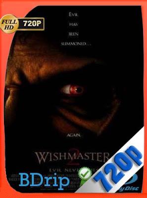 Wishmaster 2: El mal nunca muere (1999) HDBRIP [720P] latino[GoogleDrive] DizonHD