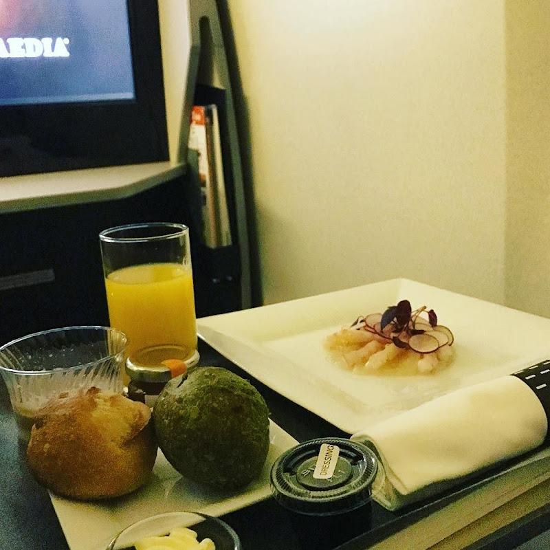 34レグ 成田→シドニー / JAL771 ビジネスクラス 【2016年の搭乗メモ】