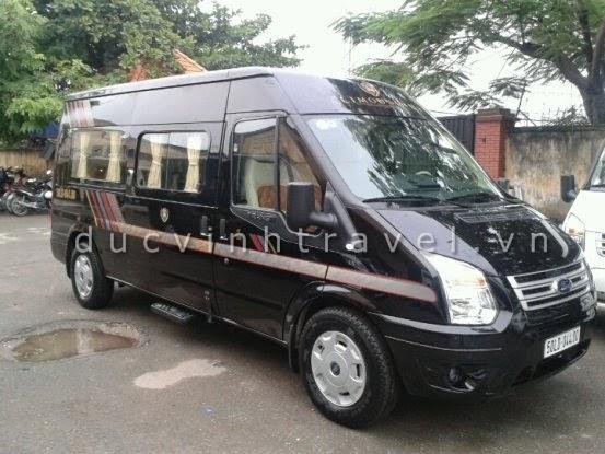 Cho thuê xe Ford Transit Dcar 2014 VIP Bus - Luxury Business