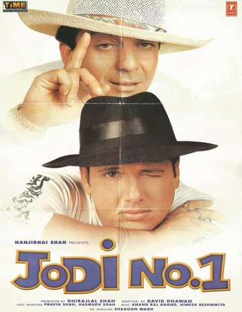 Poster Of Jodi No 1 2001 Hindi 720p HDRip Free Download Watch Online