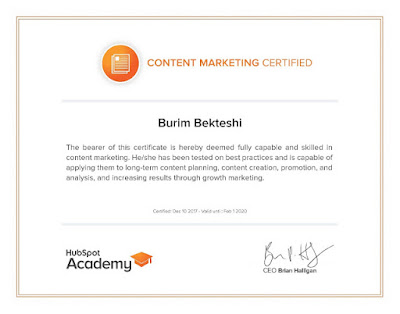 Content Marketing by Hubspot Academy