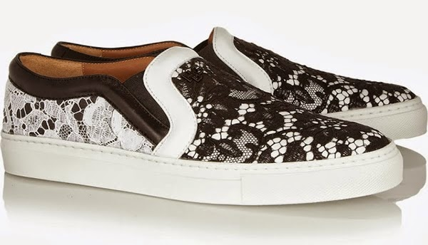 lace details slip on sneakers, trend 2014,