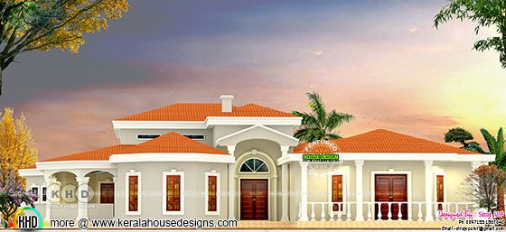 Kerala Model Luxury house with all facilities