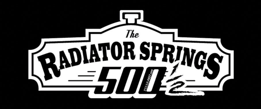 Radiator Springs 500 and a Half Logo