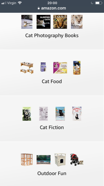 my Amazon Influencer page contains everything for the cat and cat lover