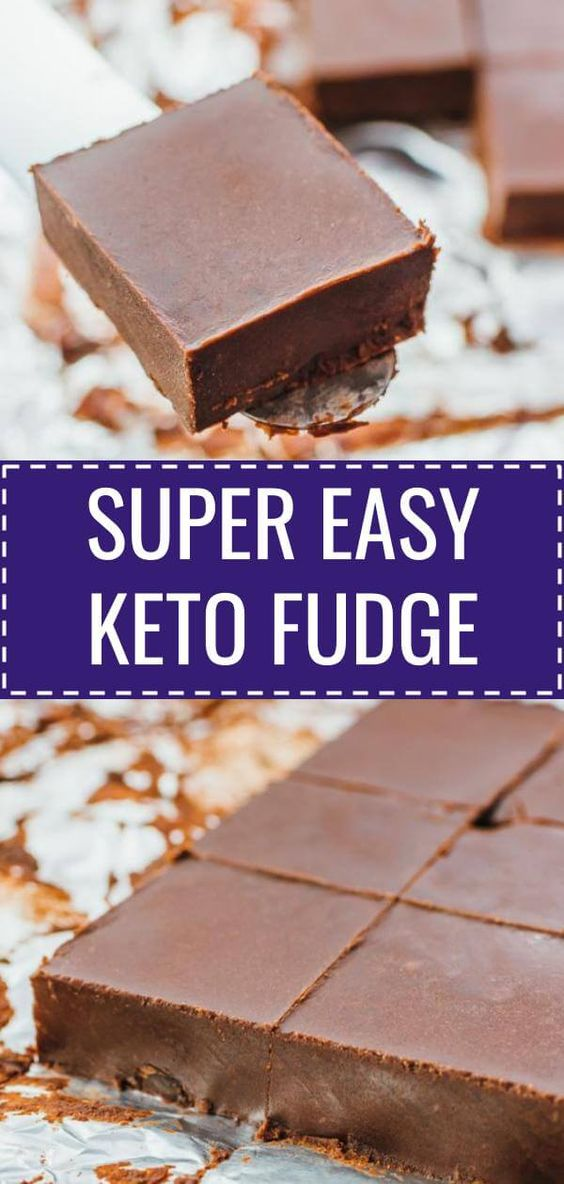 KETO SUPER EASY FUDGE