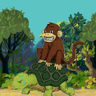 Si Monyet dan Si Kura-kura