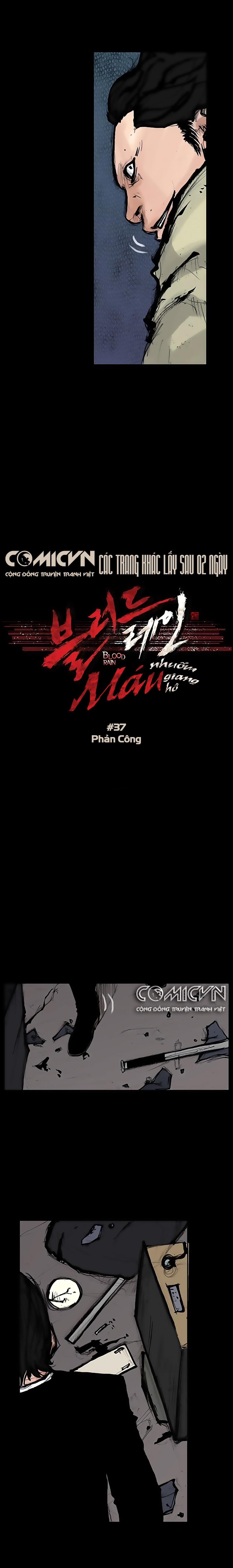 Máu Nhuốm Giang Hồ | Blood Rain chap 37 - Trang 6
