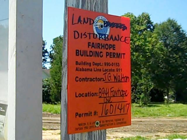 Fairhope Alabama Building Department