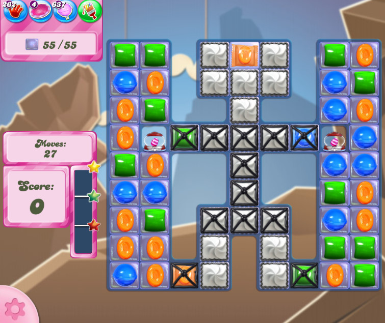 Candy Crush Saga level 2623