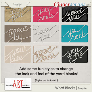 NEW Products on Sale + Free Word Art Pack!