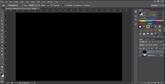 Cara Mudah Membuat Vignette Di Photoshop