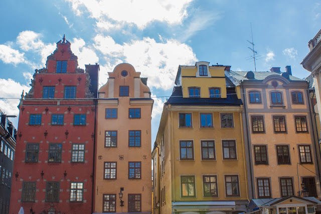 Stortoget, a praça principal do Gamla Stan, o centro histórico medieval de Estocolmo