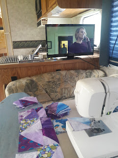 Quilting in the camper