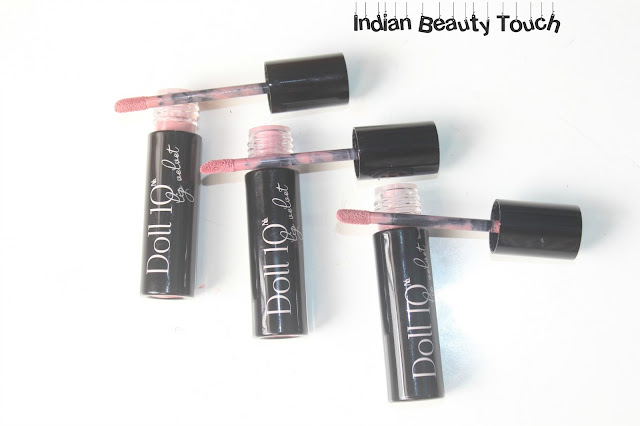 Lip swatches, Lips, Lipstick, Nude Lipstick, Nude lipstick for Indians, Doll10 Cosmetics Lip Velvet Review & Swatches, Doll10 Cosmetics Review