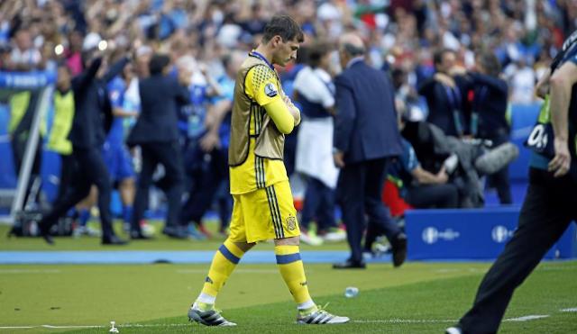 Spanyol, Selamat Tinggal, Casillas
