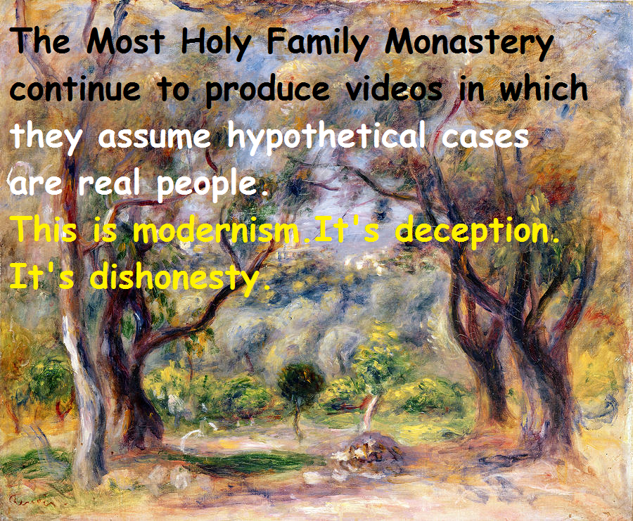 eucharistandmission: The Most Holy Family Monastery like the SSPX