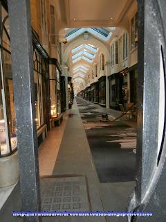 Galería comercial de Burlington Arcade.