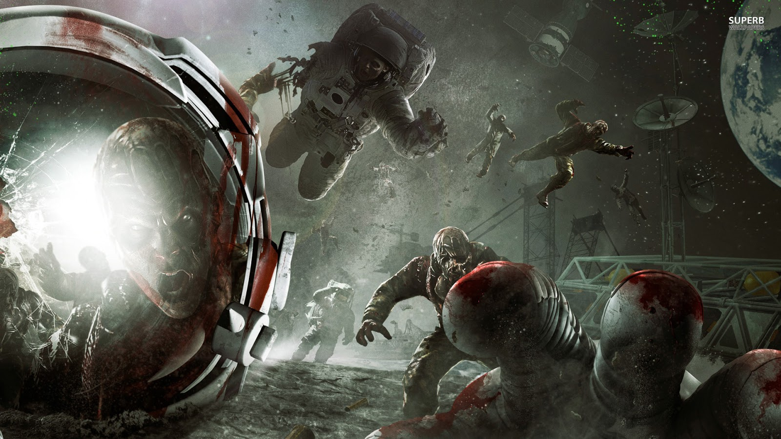 Wallpapers Call Of Duty Black Ops 2 Zombie Full HD