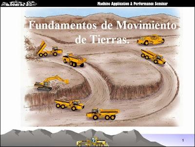 Fundamentos de movimiento de tierras presentación