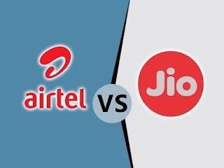 Airtel vs jio new data plans