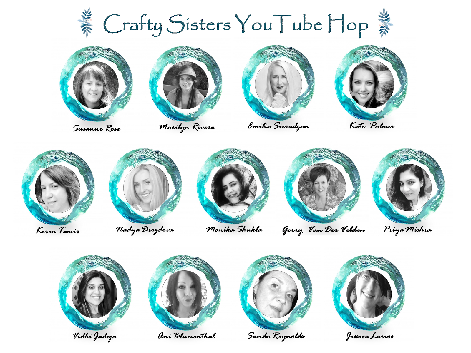 Crafty Sisters YouTube Hop + Giveaways