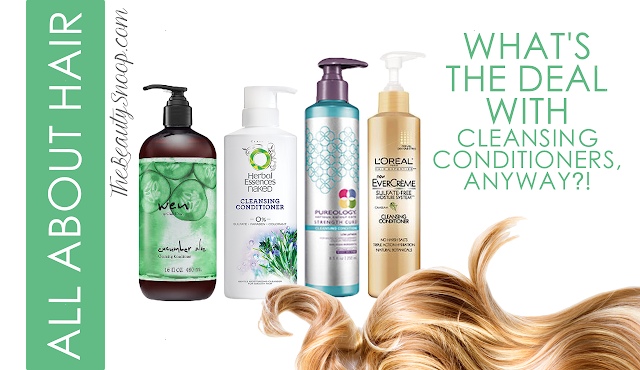 Wen, Herbal Essences Naked, Pureology, Loreal Conditioning Cleansers
