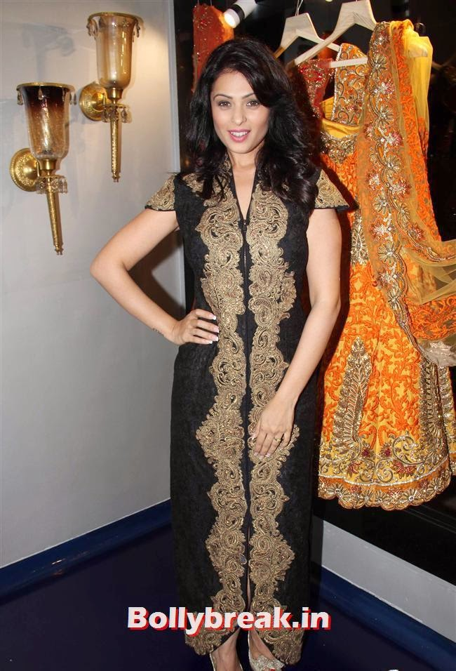 Anjana Sukhani, Celebs at Opening of Mayyur Girotra Couture