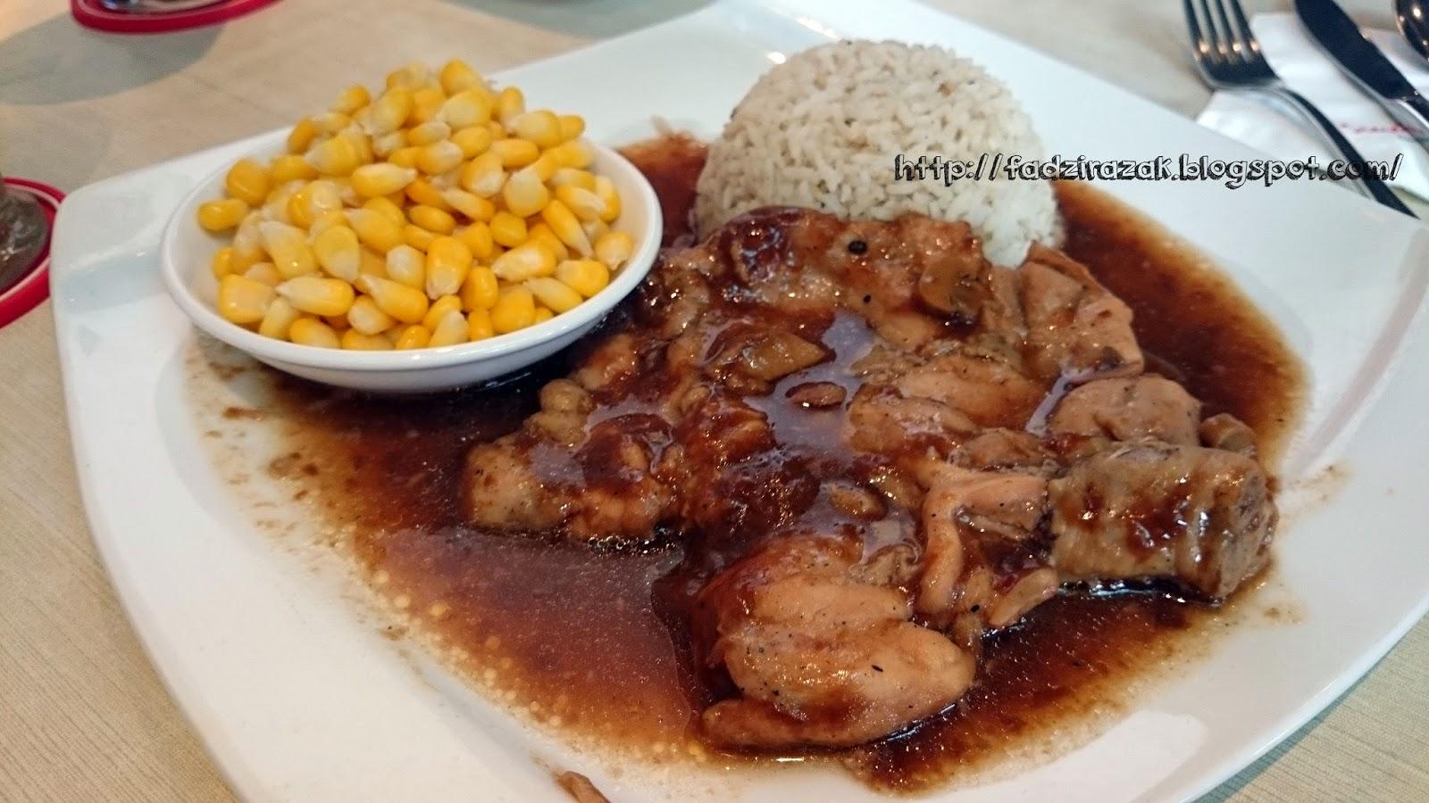 Grilled Mushroom Chicken