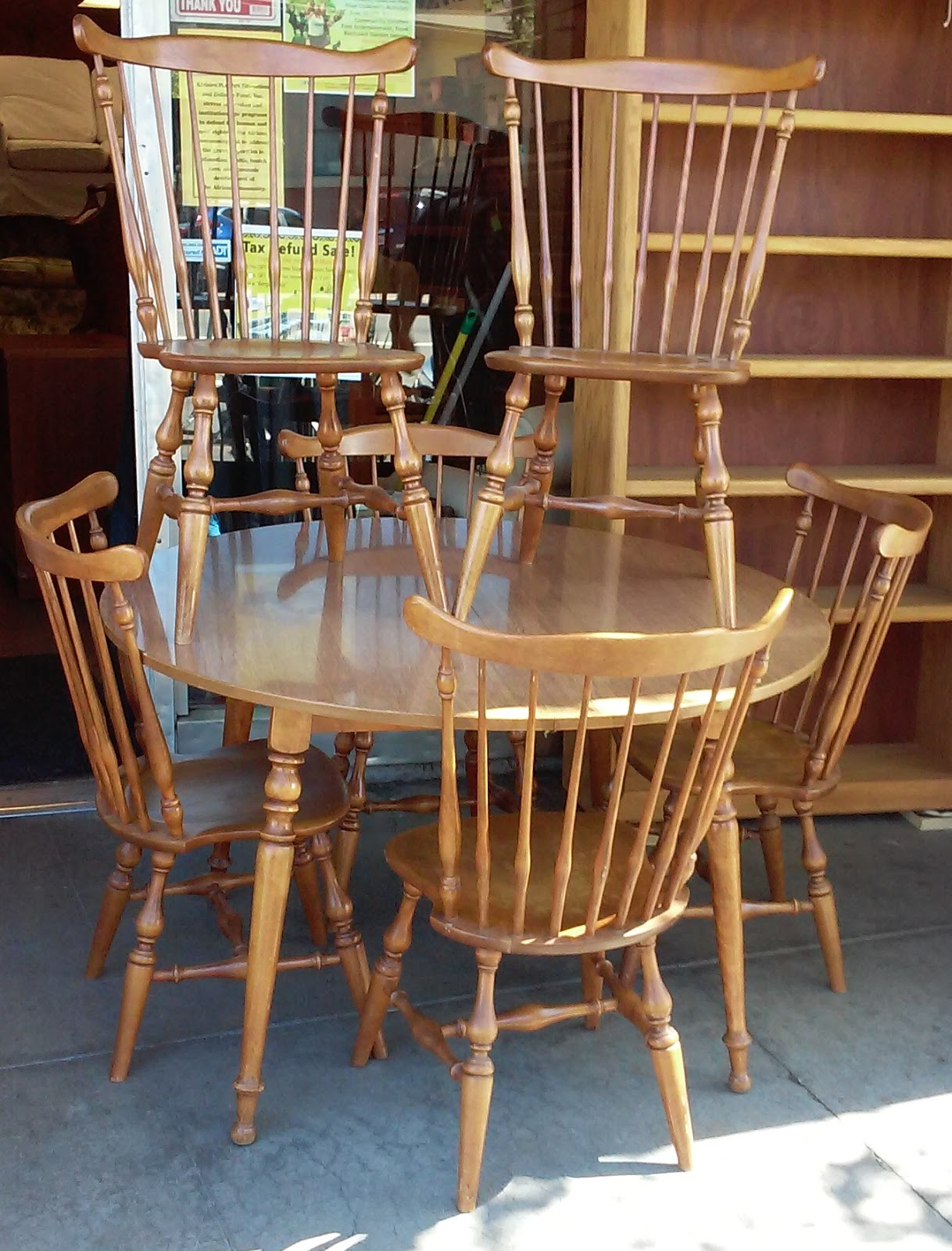maple dining room chairs crate barrel uhuru furniture and collectibles sold ethan allen colonial