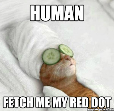 Human, fetch me my red dot
