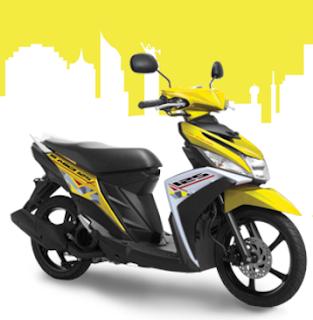 New Yamaha Mio M3 Kuning Terbaru 2016