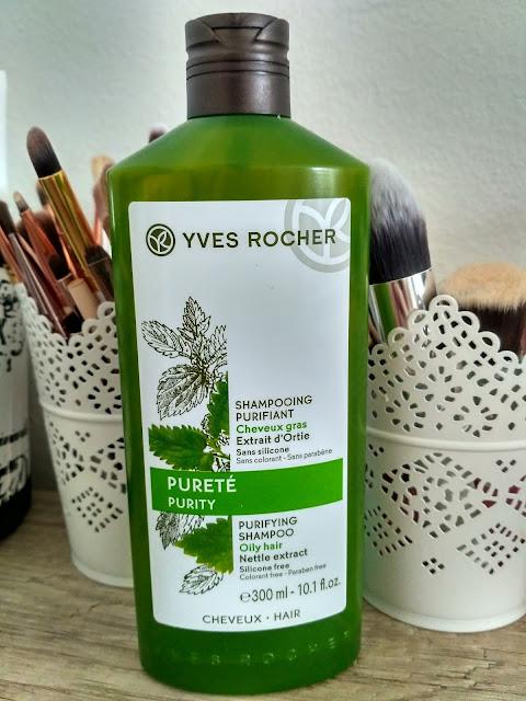 Yves Rocher šampón na mastné vlasy recenzia