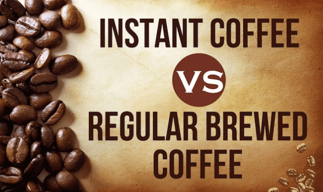 Instant Coffee VS Regular Brewed Coffee
