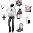 Girl in the Field, created by tanya-cochran-sieh on Polyvore.