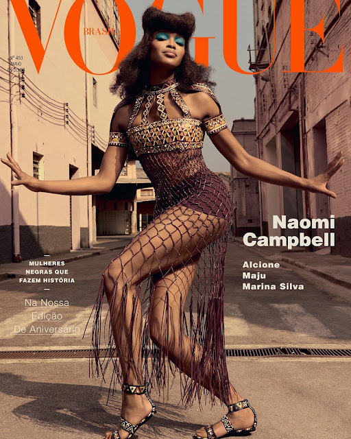 Supermodels, @ Naomi Campbell For Vogue Brazil May 2016