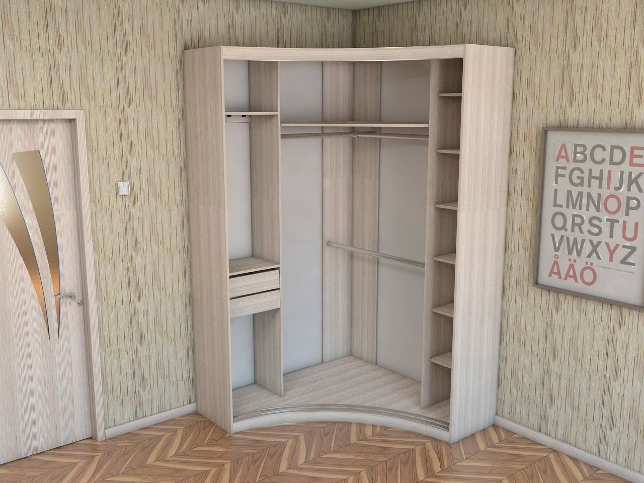 Creative%2BSmall%2BCorner%2BWall%2BCabinets%2B%252813%2529 35 Inventive Small Nook Wall Cupboards Interior
